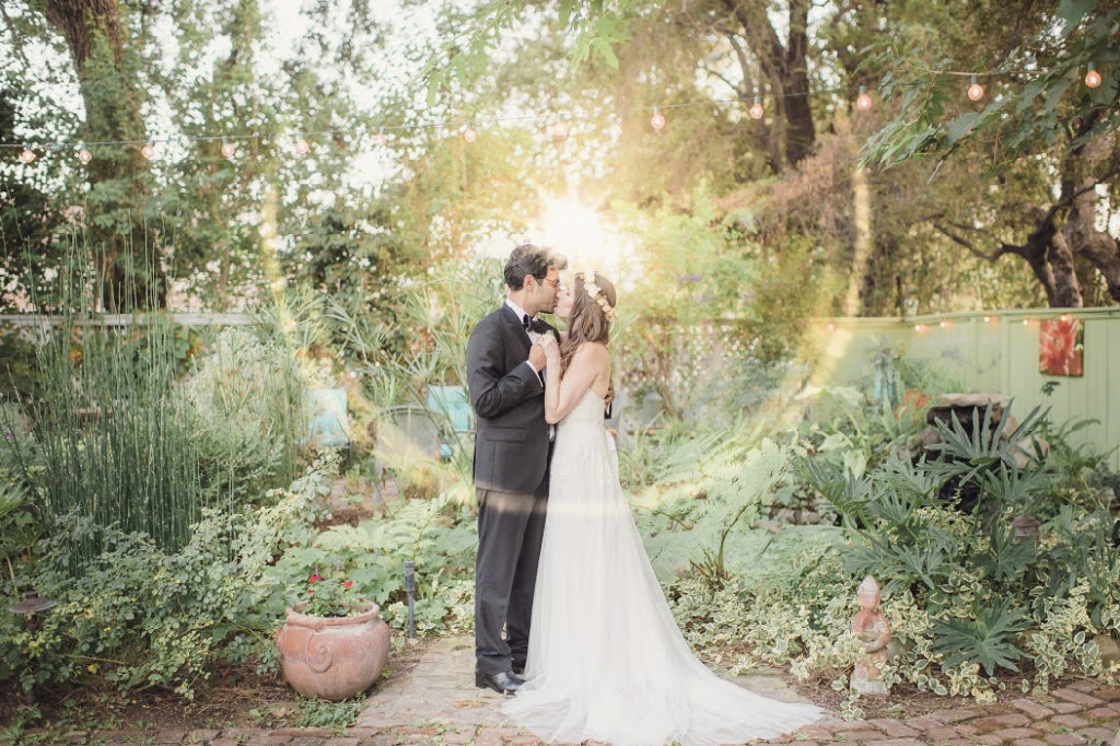 Intimate Garden Wedding at Charming Small Town Inn