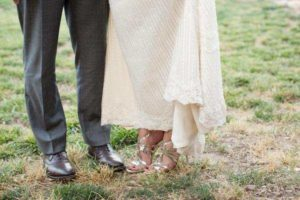 Bride & Groom Feet