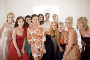 Bride and Friends pre-ceremony