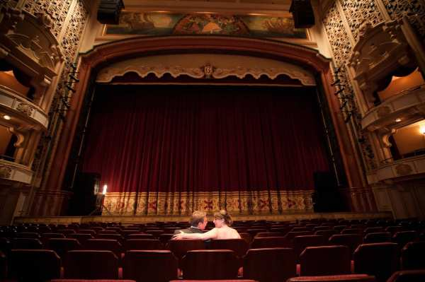 CC Granada couple alone in theater