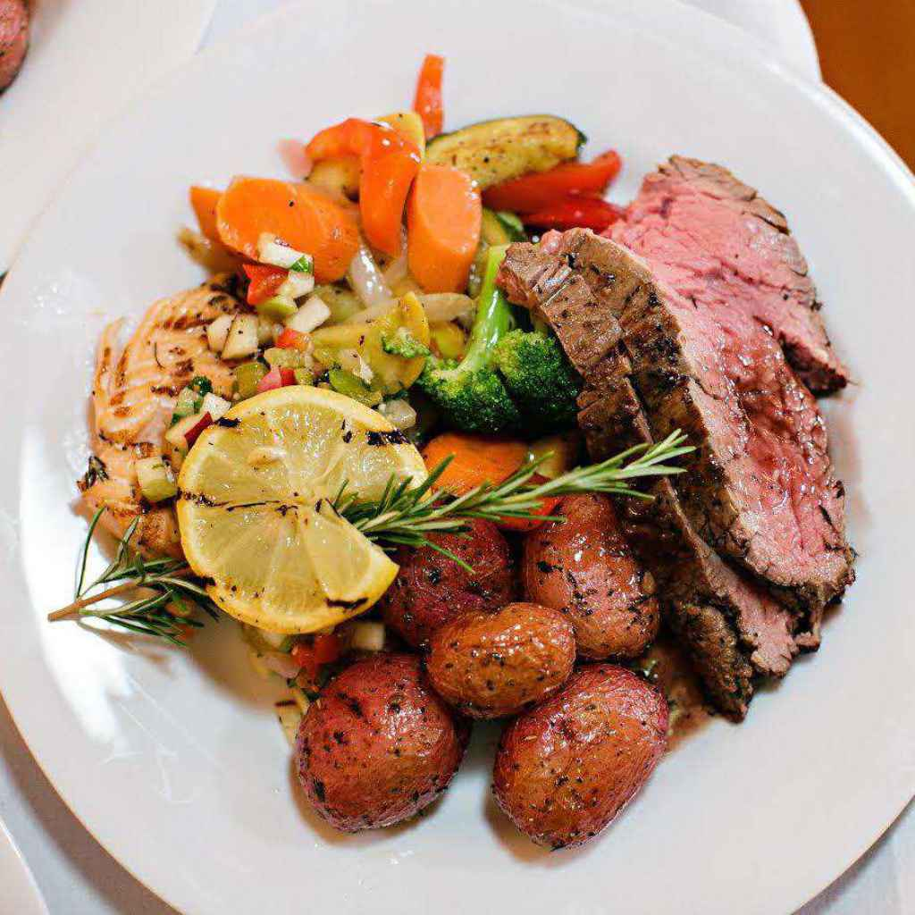 Santa Barbara Social Event Catering Entrees Menu