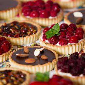 Santa Barbara Desserts, Cakes, and Confections Catering Menu