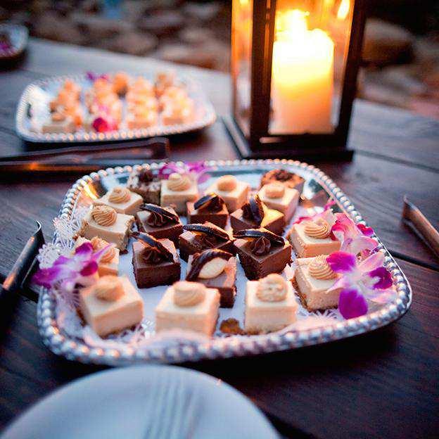 Santa Barbara Corporate Event Catering Desserts Menu