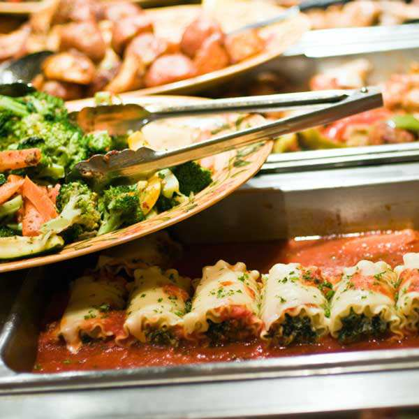 Santa Barbara Corporate Event Caterer Lunch Buffet Menu