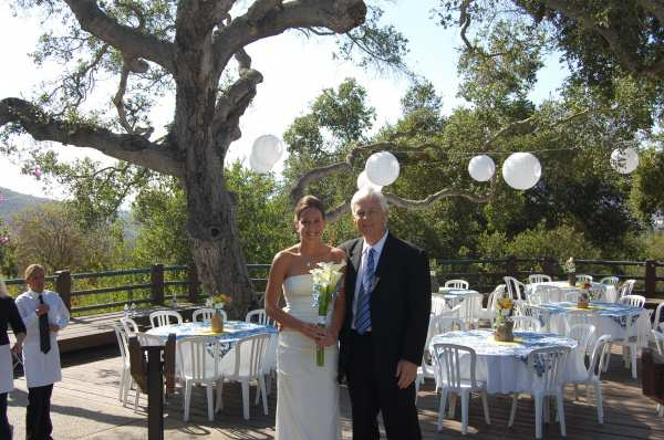 Loved This Santa Barbara Wedding At Elings Park Party Als Provided The And White House Florists Fls