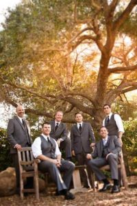 Groomsmen at SB Historical Museum Photography By Daniel Ballesteros