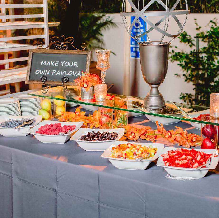 Santa Barbara Corporate Catering Food Stations Menu