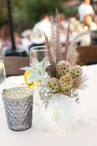 Small Centerpiece & Candle