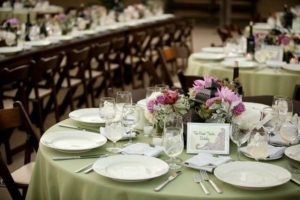 Table Setup with Olive accents Photography By Daniel Ballesteros