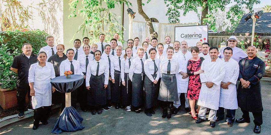Santa Barbara Catering Connection Service Team