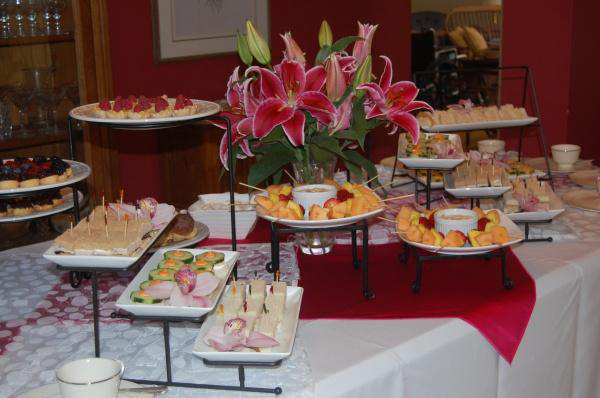 Summer Wedding Lunch Ideas : Summer bridal shower tea catering connection