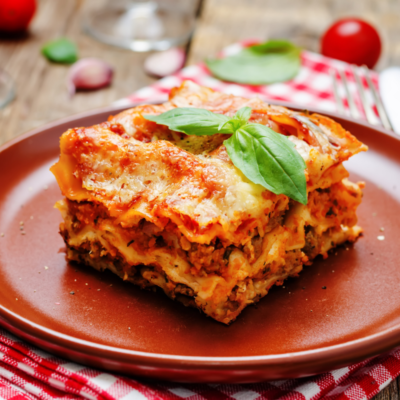 Meat Lasagna (freezer friendly)