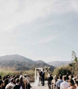 ojai wedding ceremony
