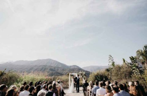 ojai wedding ceremony