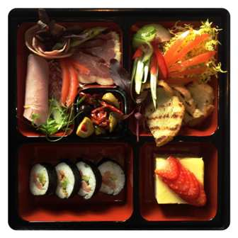 upscale boxed lunch idea